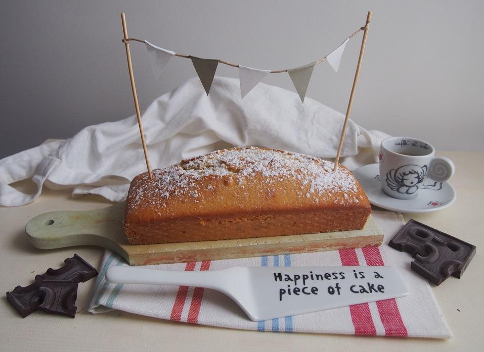Plumcake classico con sorpresa fondente
