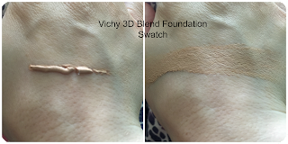 vichy dermablend 3d correct foundation swatch