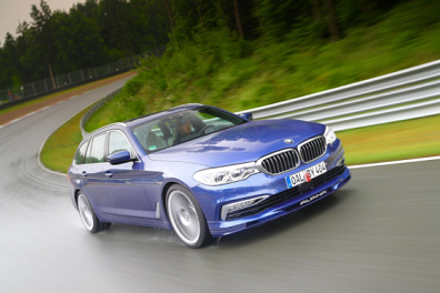 Alpina B5 Bi-Turbo Touring, World Fastest Estate