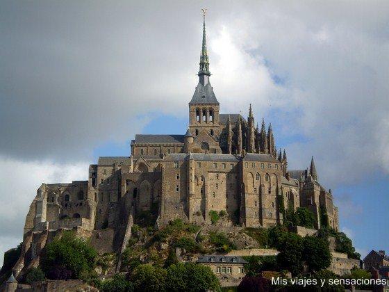 Monte Saint-Michel, Normandía, Francia