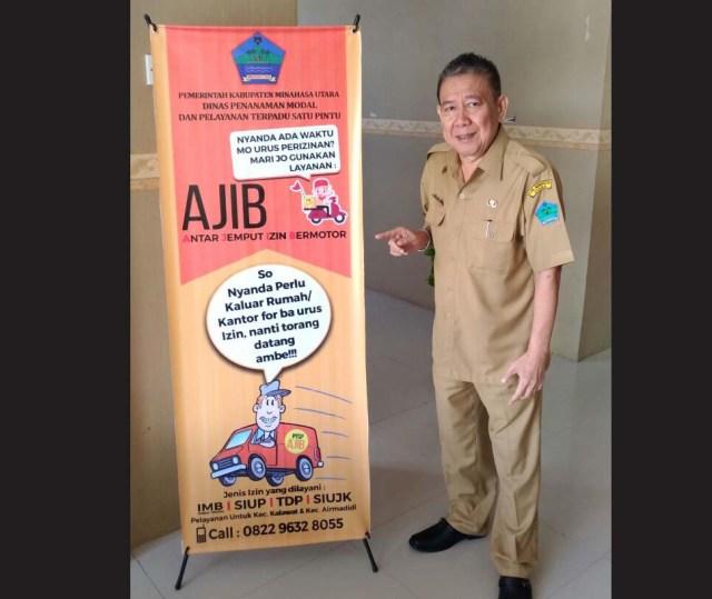 Dinas Penanaman Modal dan Pelayanan Terpadu Satu Pintu Luncurkan AJIB