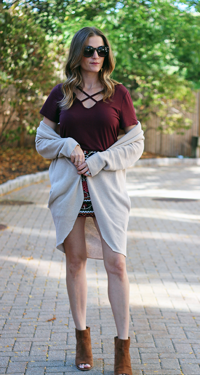 How to dress up a tee