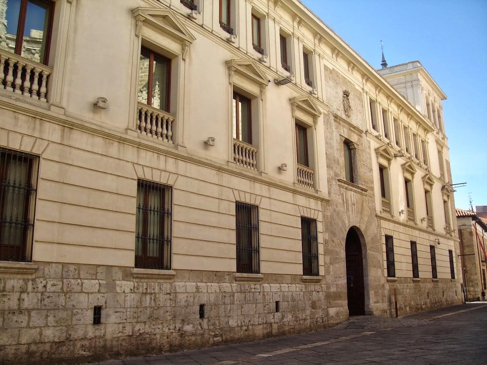 Buscando Montsalvatge: VALLADOLID. Palacio del Marqués de Villena