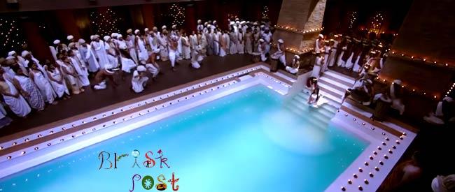 swimming pool Pooja Hegde in Mohenjo Daro