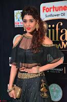 Ritika Singh in a Ethnic Deep Neck Dark Green Choli Ghagra at IIFA Utsavam Awards March 2017 ~ 023.JPG