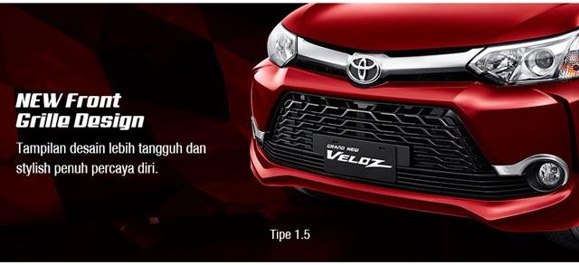 Harga Grand New Avanza Surabaya Veloz 1.3 Silver Spesifikasi Kredit Toyota Exterior