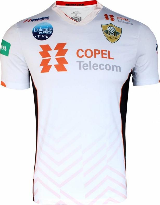 Maringá lança as camisas para a Superliga de Vôlei - Show de Camisas 5cdc03c207632