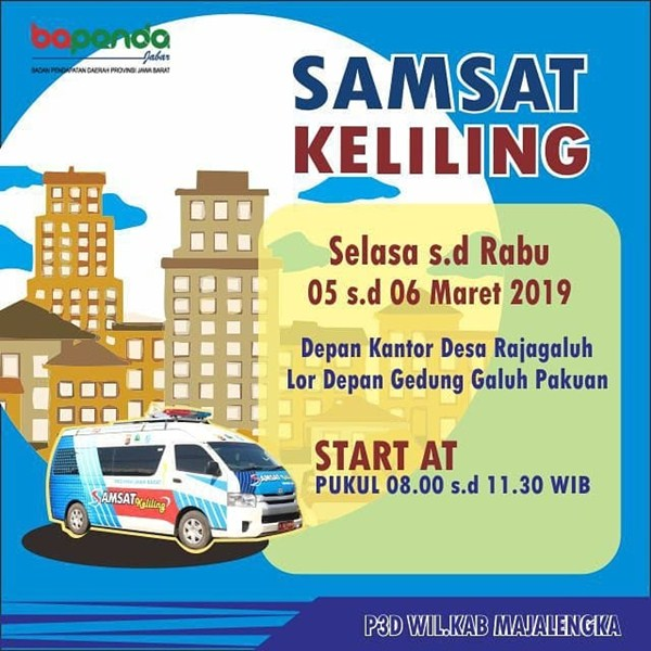jadwal SIM keliling Majalengka Maret 2019 - IGsatlantas_mjlk