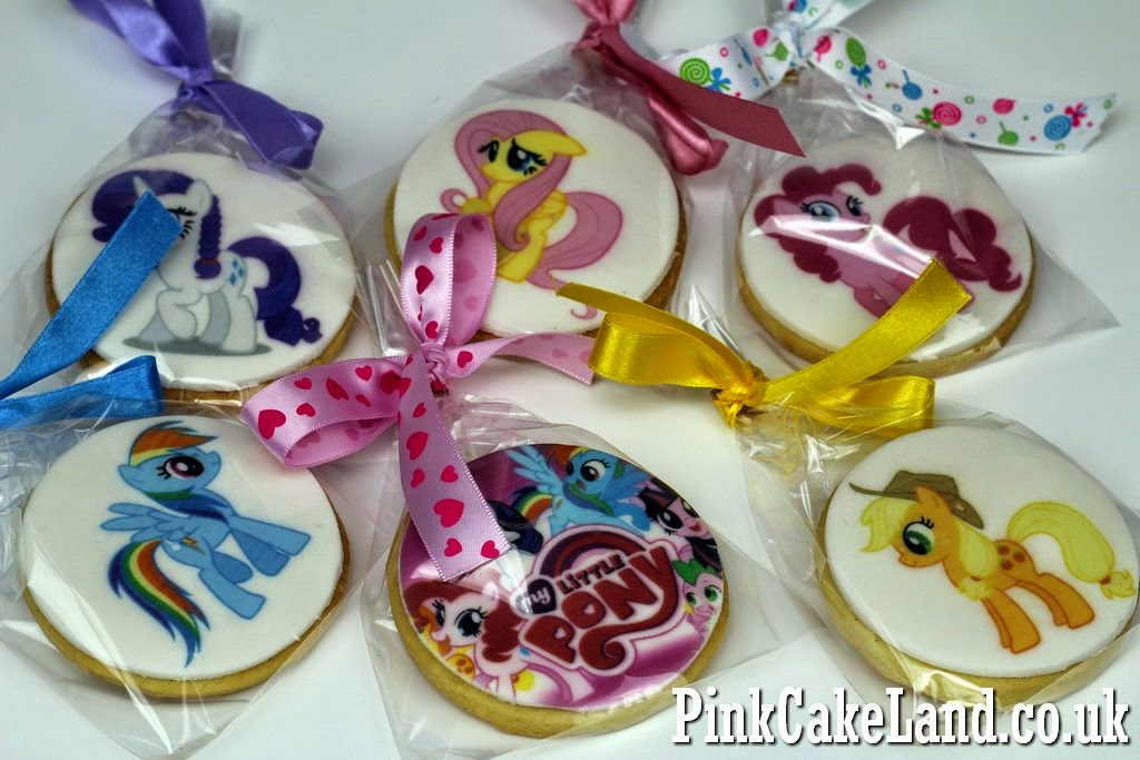 My Little Pony Photo Cookies