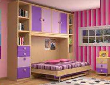 Dormitorios infantiles recamaras para bebes y ni os - Muebles infantiles para habitaciones pequenas ...