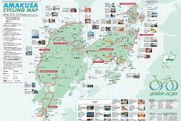 アマイチ 天草サイクリングマップ