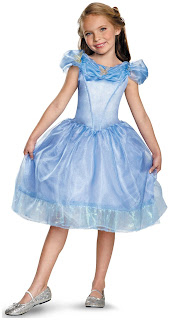 Girls Disney Cinderella Movie Child Classic for Halloween