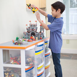 Outside The Sandbox: Lego Logistics: Storage and Building Project