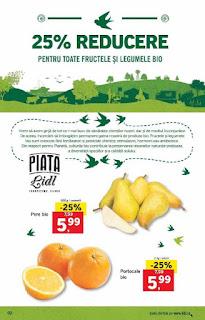 CATALOG LIDL 4 - 10 februarie 2019 oferte legume bio