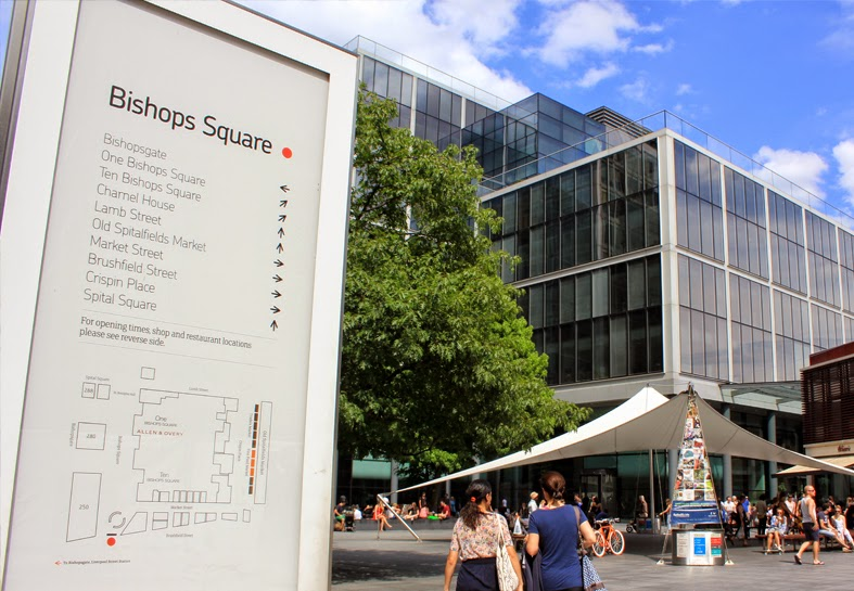 Day Two in London: Bishops Square & Canteen
