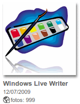 Álbum Windows Live Writer