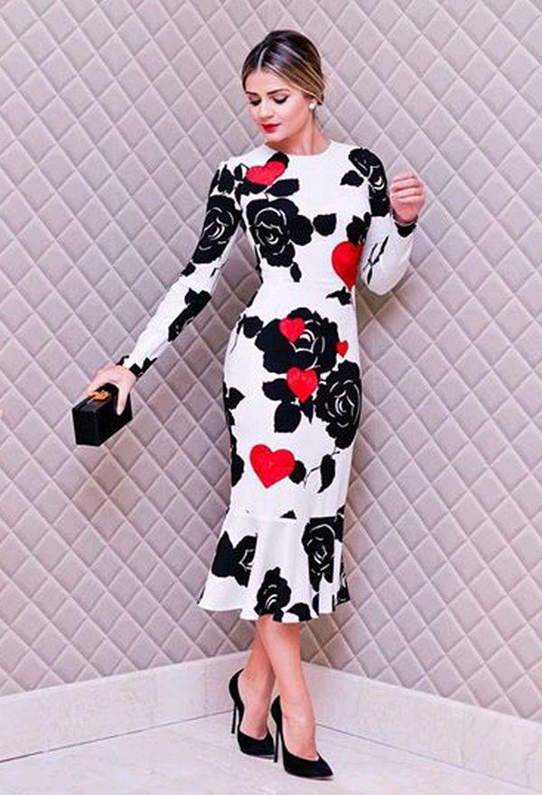 50fdcd907 Vestidos de moda modernos – Vestidos de noche