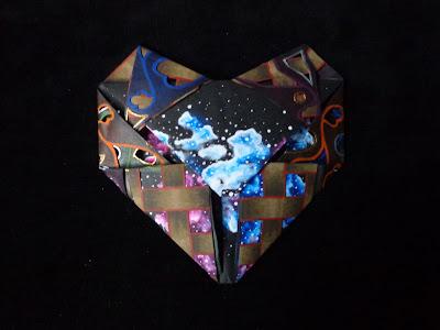 Origami corazón | Noche |