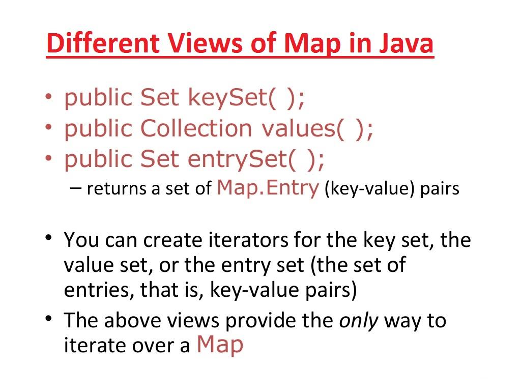 java map entry  my blog - java