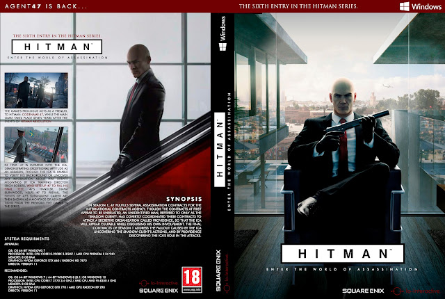 Capa Hitman (Hitman 6) PC