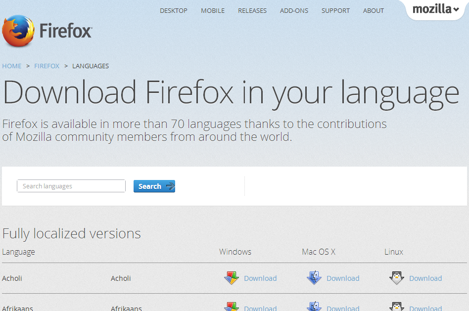 Free Download Mozilla Firefox 24 0 for Windows