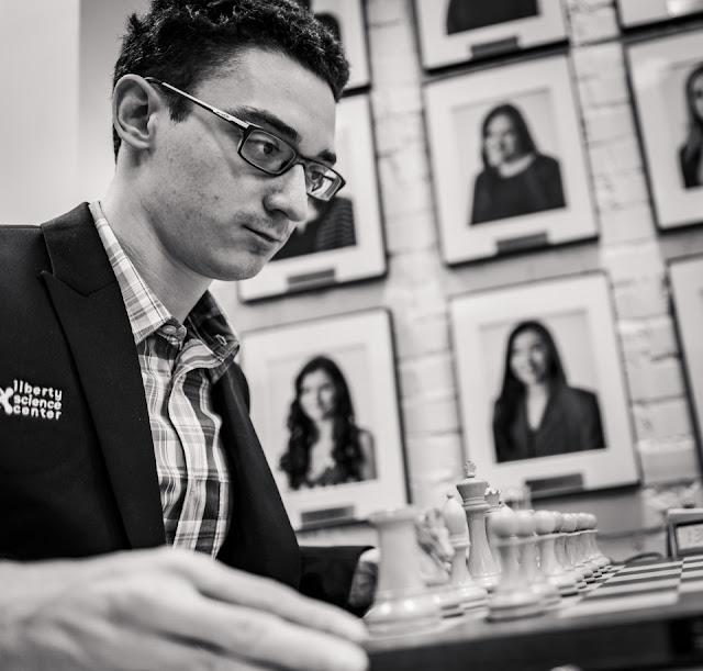 Fabiano Caruana campeón absoluto de ajedrez de los Estados Unidos