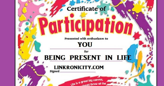 YOUR LIFE PARTICIPATION LINK