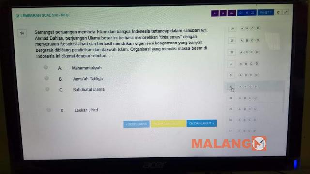 Ada Pembelokan Sejarah Dalam Soal SKI MTs, ini sikap LP Maarif NU Kabupaten Malang