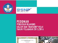 Pedoman Pengisian Blanko Ijazah dan Transkip Nilai 2016 Gratis
