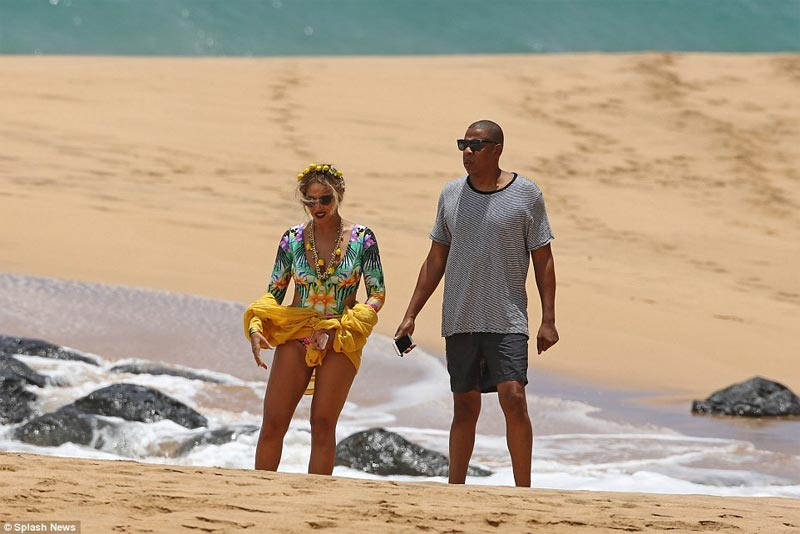 Beyonce and JayZ spend quality time in Hawaii