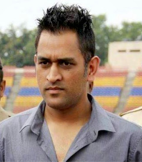 New Collection Of M S Dhoni Hairstyle