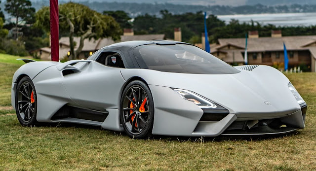 New Cars, Pebble Beach, SSC, SSC Tuatara