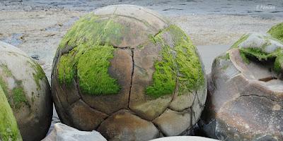 Moeraki boulders, en Nueva Zelanda