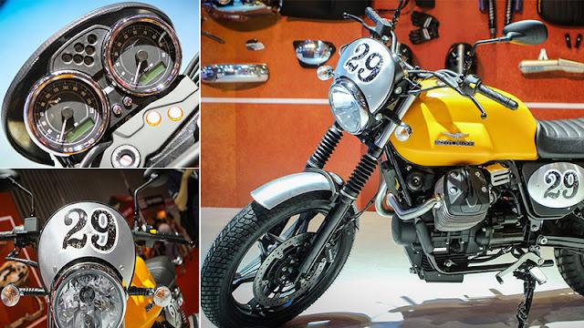 Moto Guzzi V7 II Scrambler