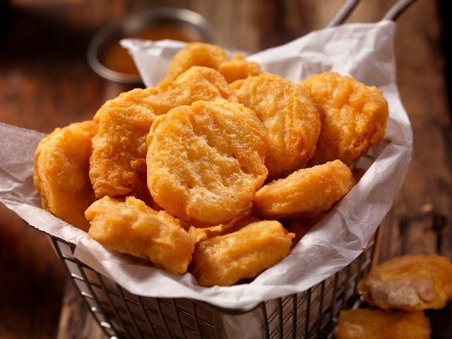 Nugget salah satu bahan makanan yang bisa untuk stok puasa