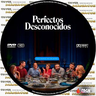 GALLETA PERFECTOS DESCONOCIDOS - 2018 [COVER DVD]