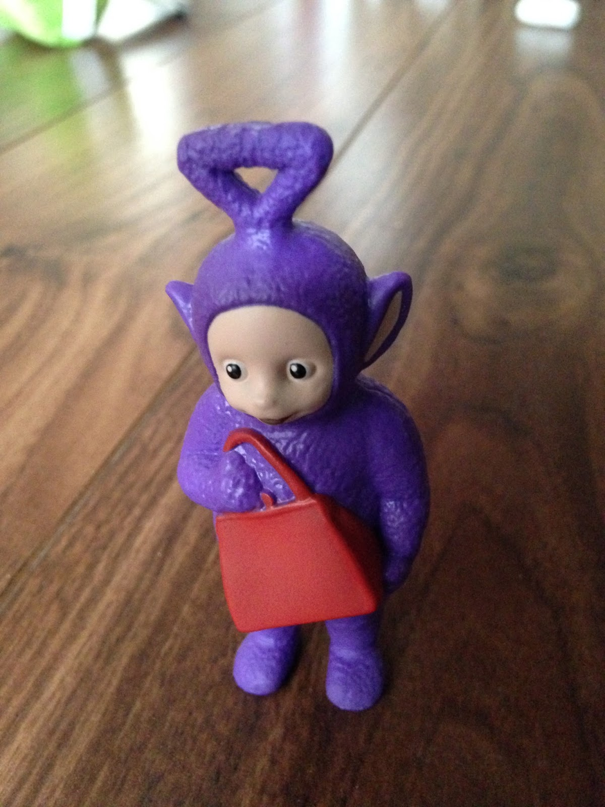 Item So In Our Case Tinky Winky Has The Red Handbag Po Her Scooter Etc There S Also A Noo This Range My Own Personal Favourite