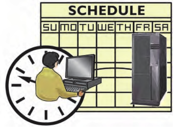 TSM Central Scheduling