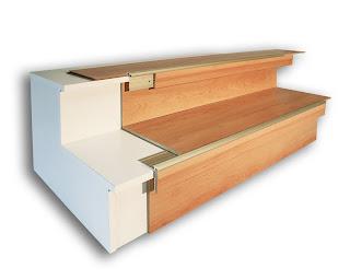 Treppenrenovierung - Treppenprofilsystem