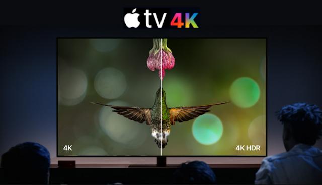 آبل تكشف عن Apple TV الذي يدعم  4K HDR
