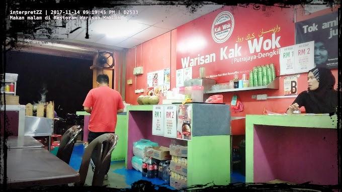Singgah di Restoran Warisan Kak Wok di Cyberjaya Commercial Valley