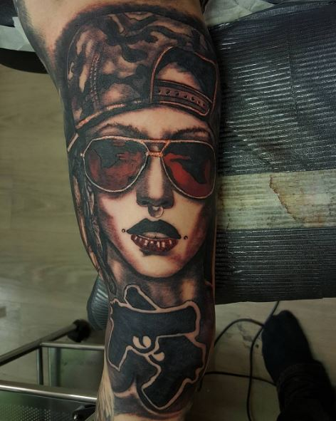 Gangsta Tattoos: 50+ Cool Gangster Tattoos For Females (2019)