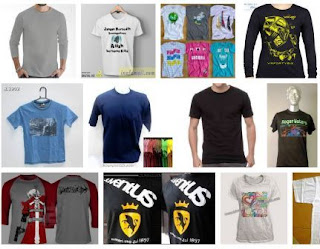 alamat PT dan UKM konveksi kaos T-Shirt di kawasan Bandung Barat