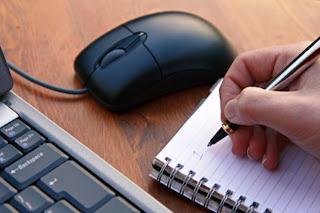 Proses Menulis Postingan Blog