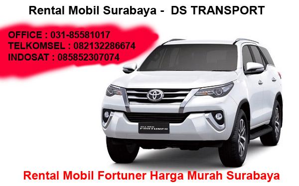 Sewa Mobil Fortuner Surabaya Murah 24 Jam + Sopir Berpengalaman