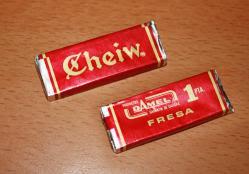 El chicle Cheiw
