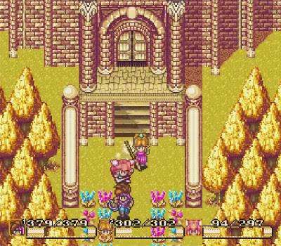 Secret of Mana - Palacio dorado
