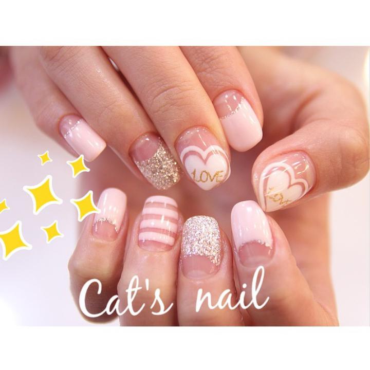 Nicole Cynnie | Cat's Nail Valentine's Inspiried