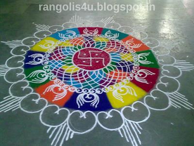Large Rangolis