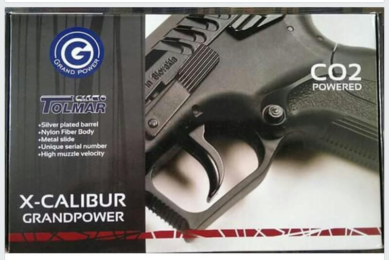 canada airgun freak: Tolmar Grand Power X-caliber Co2 NBB
